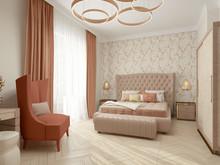 Квартира «Проект дома Новая Рига», спальня . Фото № 31686, автор Голубев Алексей