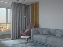 Квартира «Проект в современном стиле от АЙ ЛАЙК.», гостиная . Фото № 31871, автор Пистоли Анна