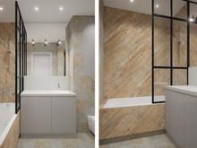 Квартира «Лофт для сёрфера», ванная . Фото № 31875, автор Пистоли Анна