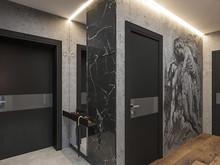 Квартира «Лофт для холостяка», прихожая . Фото № 32155, автор Шерстнева Екатерина