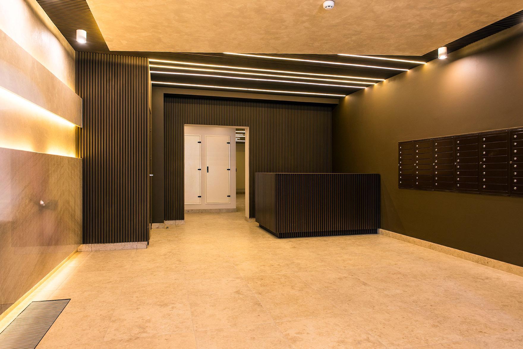 Многоквартирный дом «», холл, фото из проекта