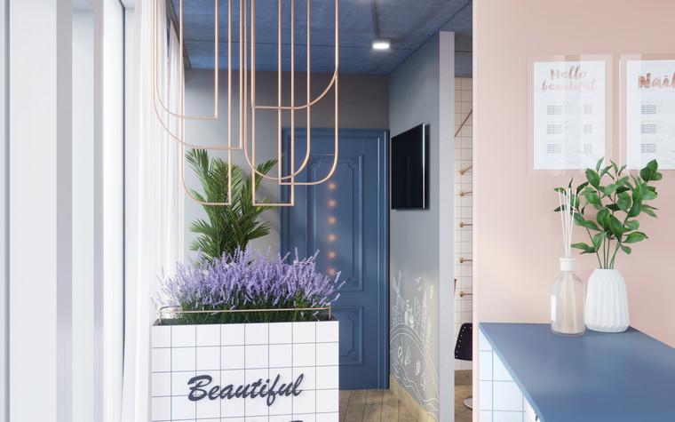 Салон красоты. салон красоты из проекта Салон красоты в пастельных тонах, фото №97501
