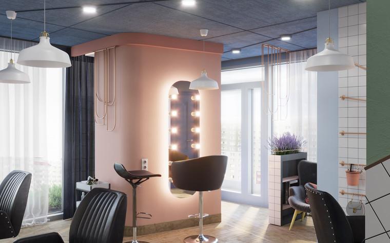 Салон красоты. салон красоты из проекта Салон красоты в пастельных тонах, фото №97512
