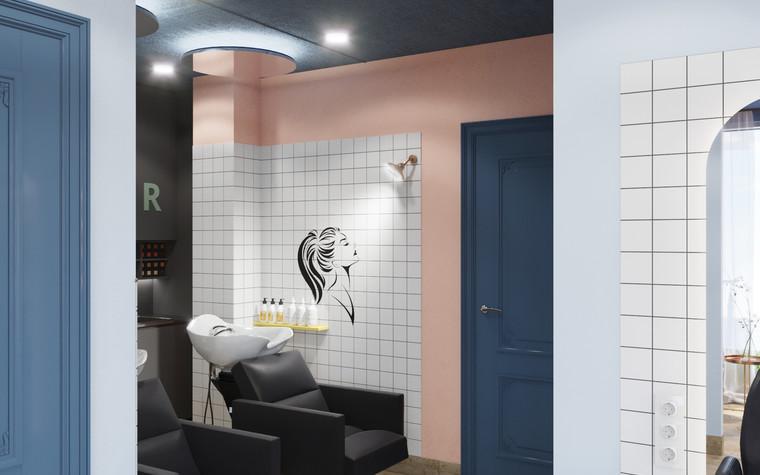 Салон красоты. салон красоты из проекта Салон красоты в пастельных тонах, фото №97516
