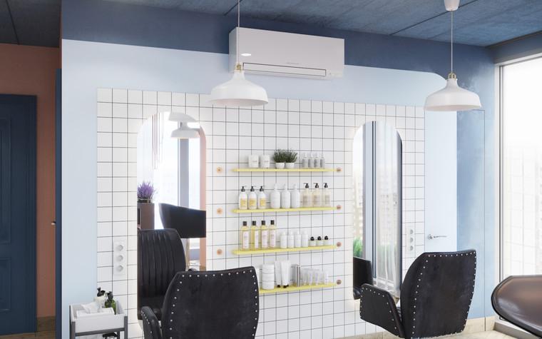 Салон красоты. салон красоты из проекта Салон красоты в пастельных тонах, фото №97520
