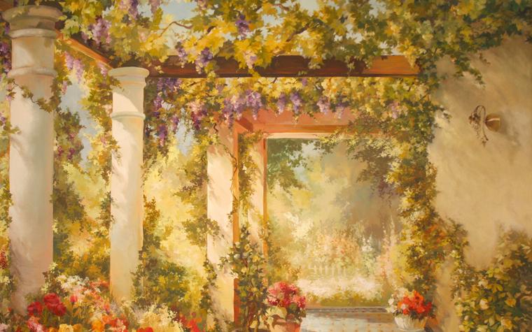 Фото № 23453 роспись живопись  Роспись, живопись