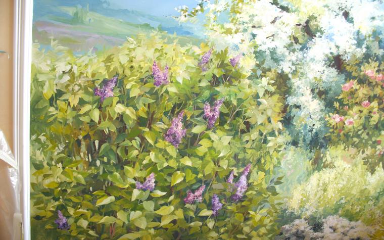 Фото № 23458 роспись живопись  Роспись, живопись