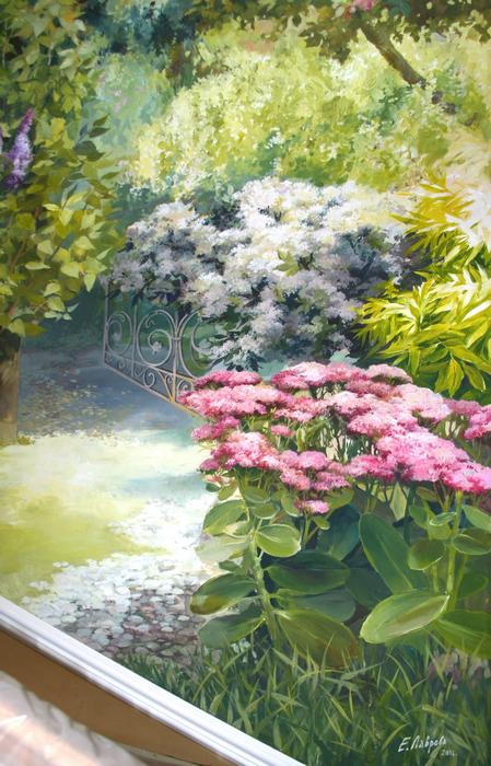 Фото № 23459 роспись живопись  Роспись, живопись