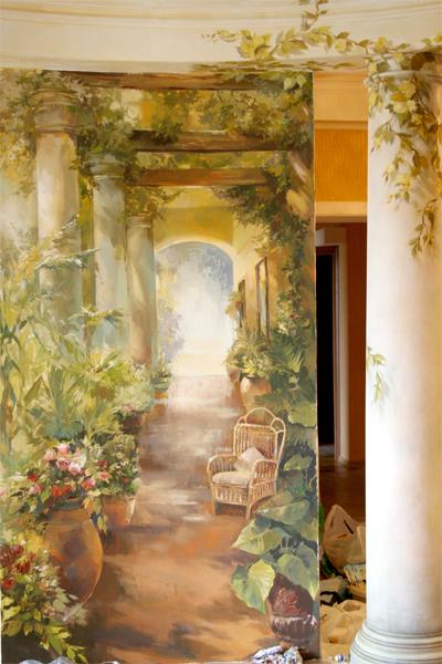 роспись живопись - фото № 23476