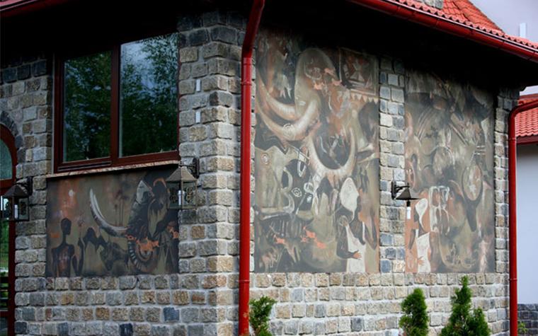 Фото № 23480 роспись живопись  Роспись, живопись