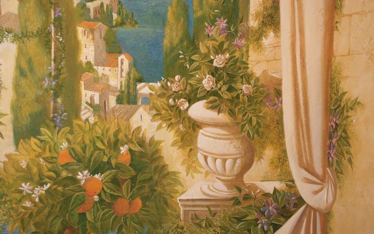 роспись живопись - фото № 22705