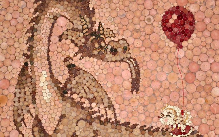 Фото № 25624 мозаика  Мозаика