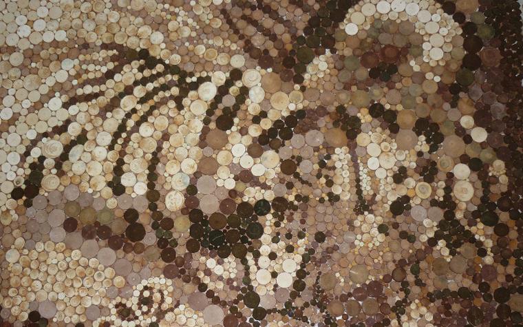 Фото № 25628 мозаика  Мозаика