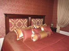 Подушка, покрывало, штора, фото № 6533