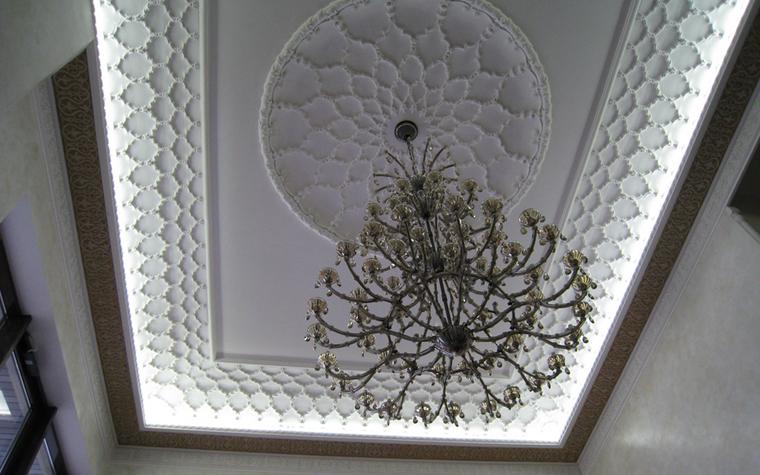 Интерьеры с лепниной, выполненной из полиуретана
