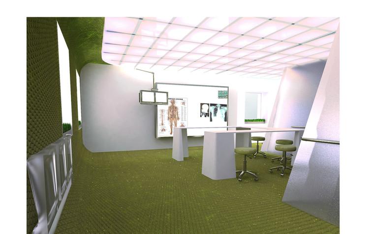 Медицинский центр, спа. cпа салон, медицинский центр из проекта Дизайн проект мед.учреждения, фото №81377