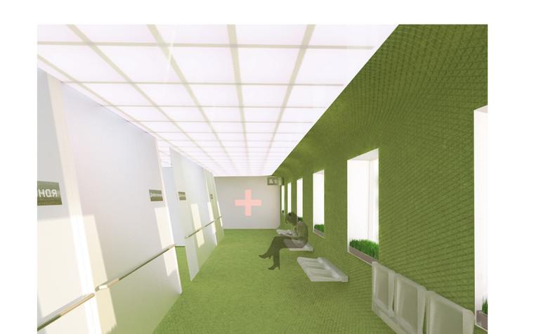 Медицинский центр, спа. cпа салон, медицинский центр из проекта Дизайн проект мед.учреждения, фото №81373