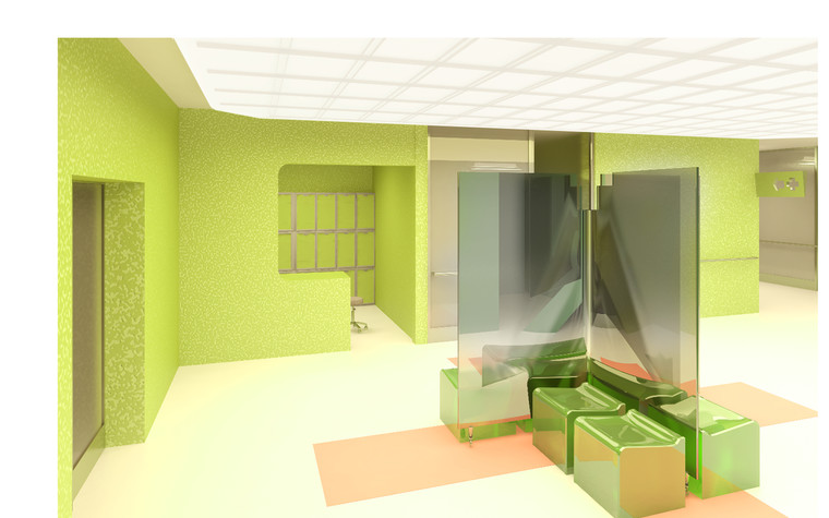 Медицинский центр, спа. cпа салон, медицинский центр из проекта Дизайн проект мед.учреждения, фото №81374