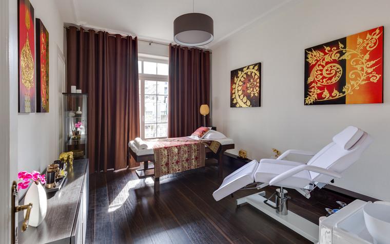 Медицинский центр, спа. cпа салон, медицинский центр из проекта Thai Spa Mounteux, фото №93370