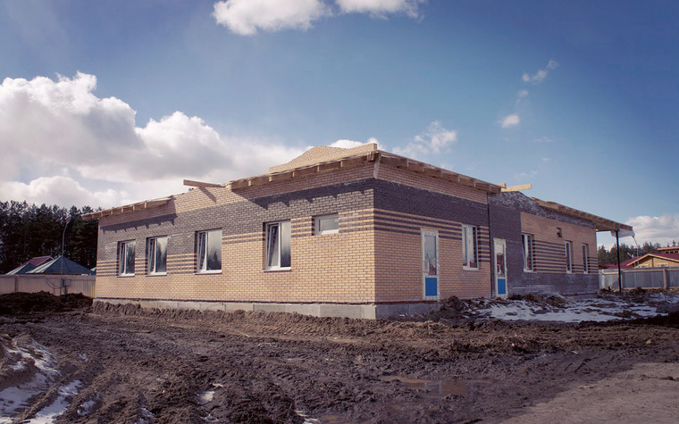 Медицинский центр, спа. cпа салон, медицинский центр из проекта Мед. блок для детей перенесших онкологические заболевания., фото №77212