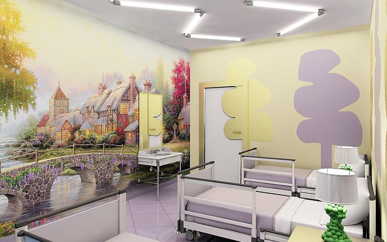 Медицинский центр, спа. cпа салон, медицинский центр из проекта Мед. блок для детей перенесших онкологические заболевания., фото №77214