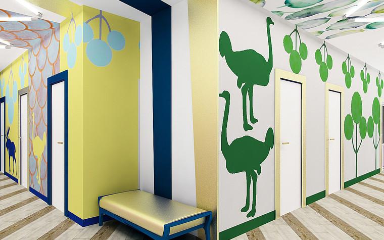 Медицинский центр, спа. cпа салон, медицинский центр из проекта Мед. блок для детей перенесших онкологические заболевания., фото №77219