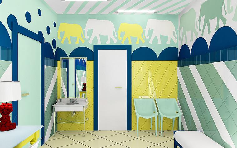 Медицинский центр, спа. cпа салон, медицинский центр из проекта Мед. блок для детей перенесших онкологические заболевания., фото №77202