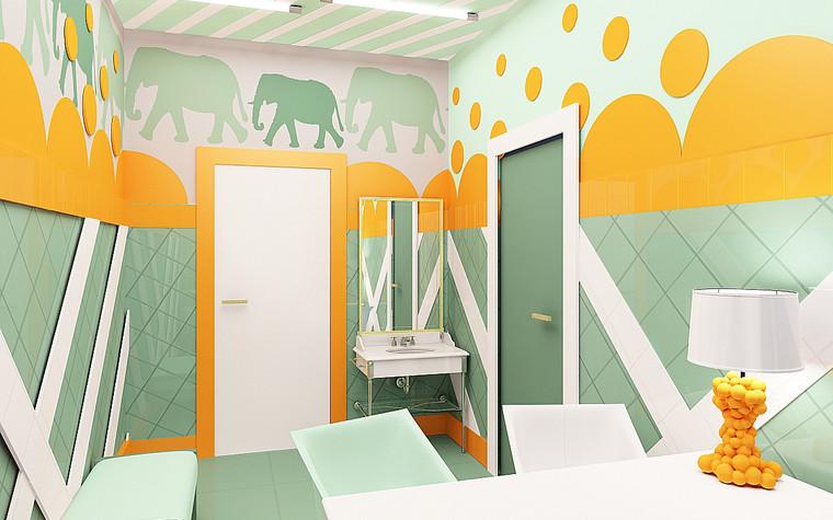 Медицинский центр, спа. cпа салон, медицинский центр из проекта Мед. блок для детей перенесших онкологические заболевания., фото №77203
