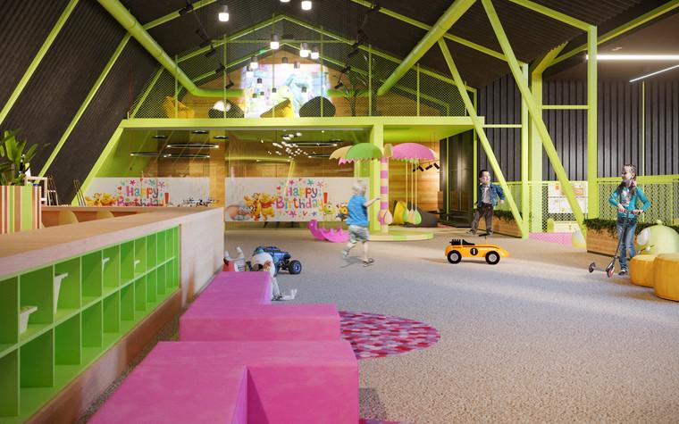 Детские центры, клубы. детский центр, клуб из проекта Детский развлекательный центр. Планета беззаботного детства., фото №79805