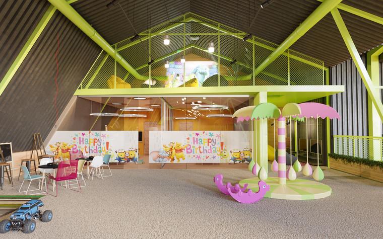 Детские центры, клубы. детский центр, клуб из проекта Детский развлекательный центр. Планета беззаботного детства., фото №79806