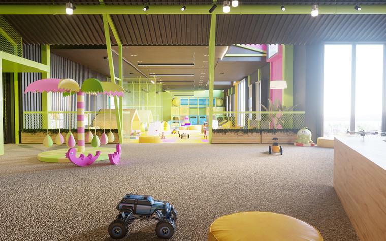 Детские центры, клубы. детский центр, клуб из проекта Детский развлекательный центр. Планета беззаботного детства., фото №79808