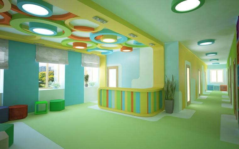 Детские центры, клубы. детский центр, клуб из проекта Центр детского творчества, фото №81156