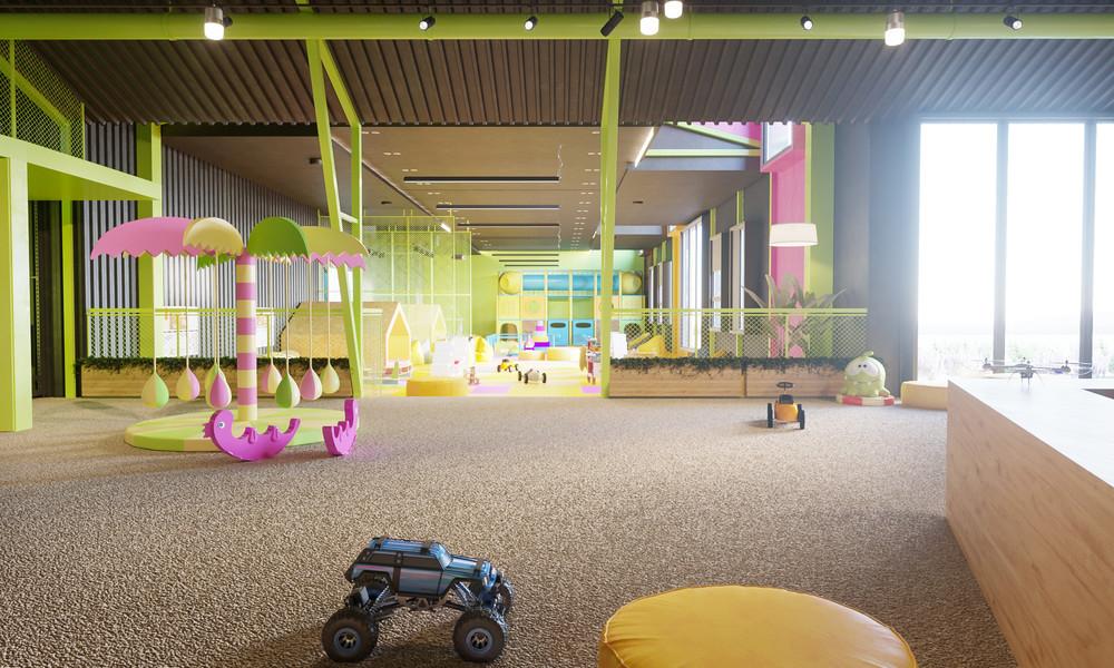 Детские центры, клубы «Детский развлекательный центр. Планета беззаботного детства.», детский центр, клуб, фото из проекта