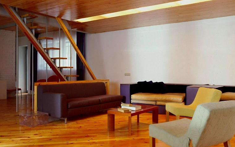 Загородный дом. гостиная из проекта , фото №6447
