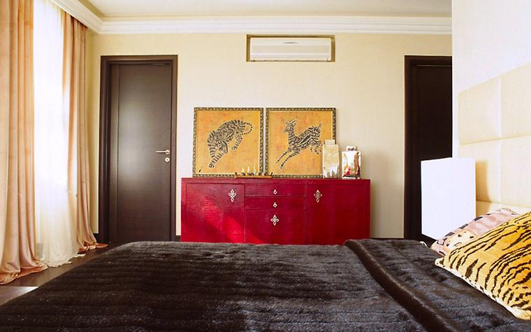 Фото № 6480 спальня  Загородный дом