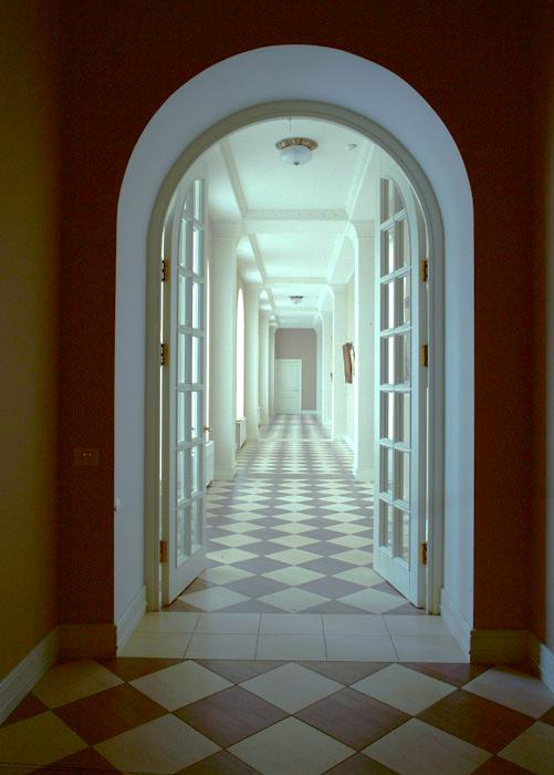Загородный дом. холл из проекта , фото №6528