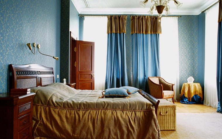 Загородный дом. спальня из проекта , фото №6515
