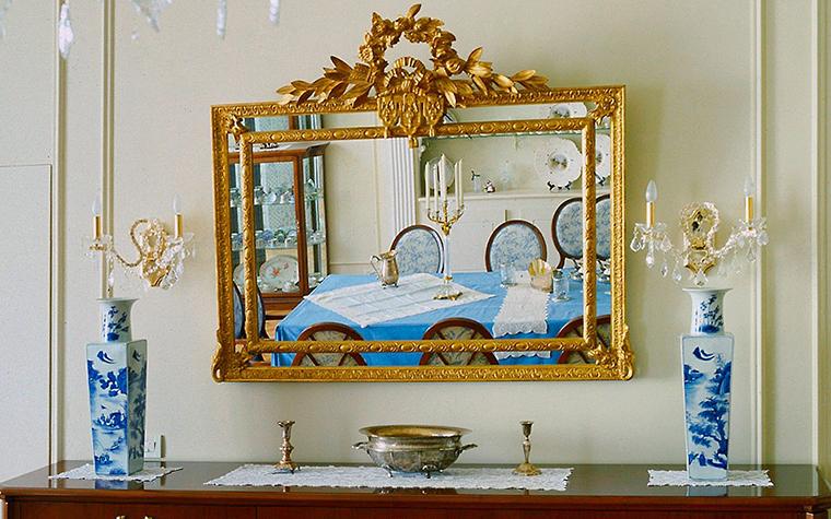 Загородный дом. столовая из проекта , фото №6522