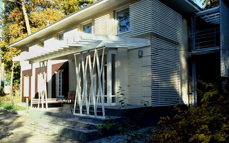 Загородный дом. фасад из проекта , фото №6644