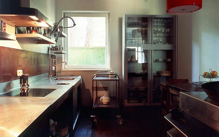 Фото № 6660 кухня  Загородный дом