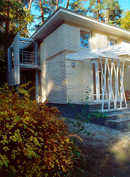 Фото № 6645 фасад  Загородный дом