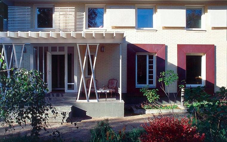 Фото № 6646 фасад  Загородный дом