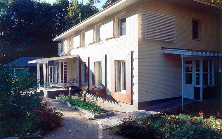 Загородный дом. фасад из проекта , фото №6647