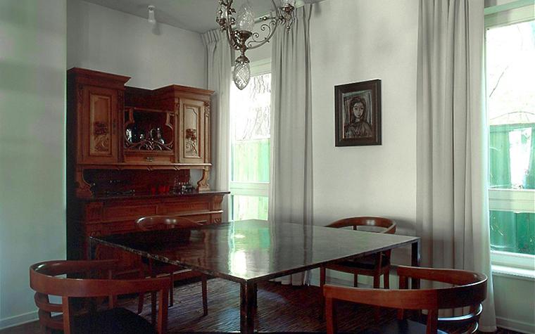 Загородный дом. столовая из проекта , фото №6643