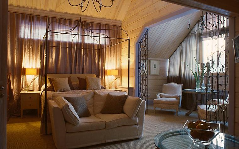 Загородный дом. спальня из проекта , фото №6667