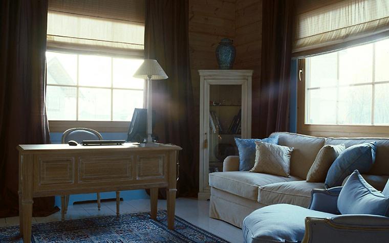 Загородный дом. кабинет из проекта , фото №6666