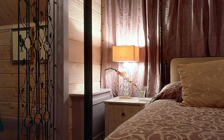 Загородный дом. спальня из проекта , фото №6678