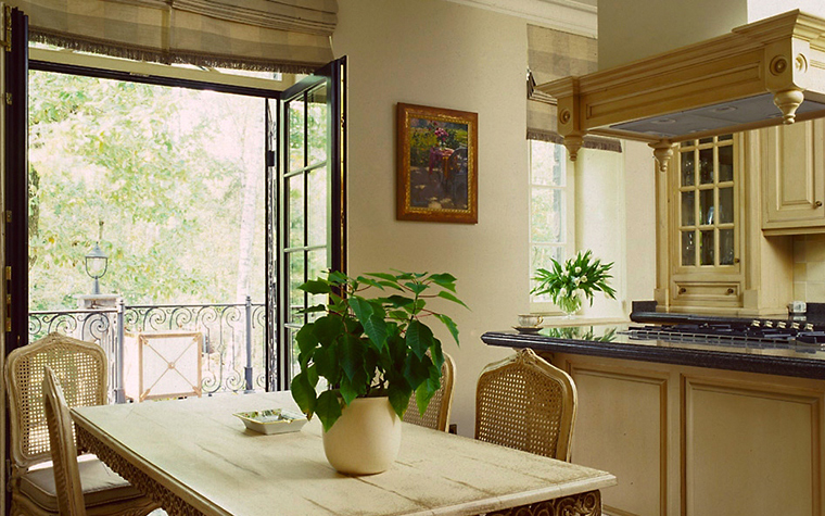Загородный дом. кухня из проекта , фото №6702