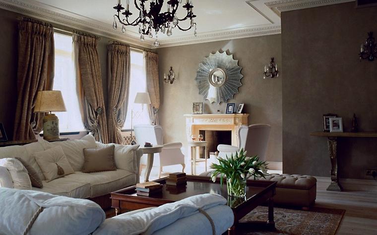 интерьер гостиной - фото № 6700