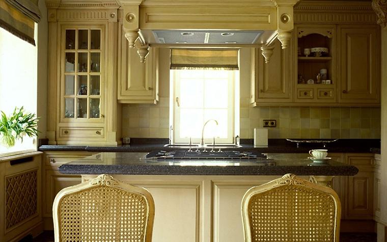 Загородный дом. кухня из проекта , фото №6715